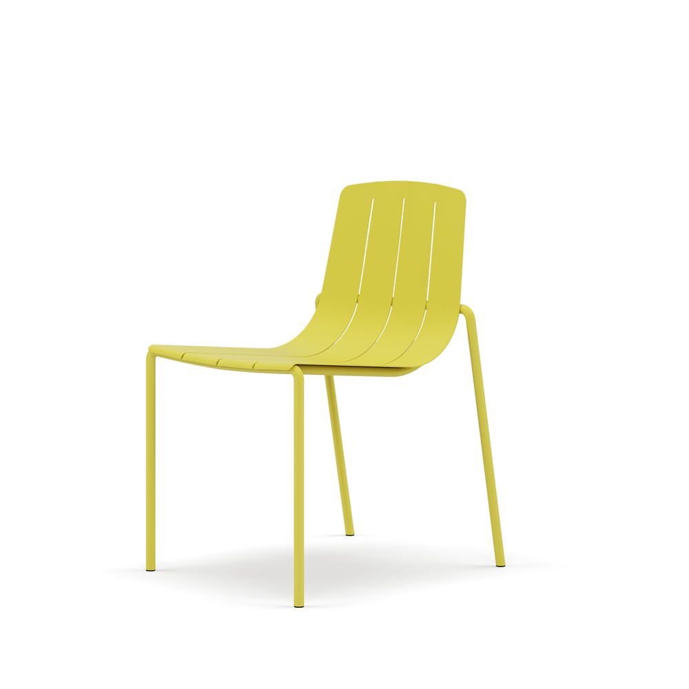 Dasia dining chair, an outdoors collection inspired by classic wooden garden furniture