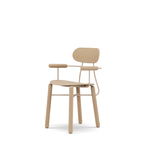 picture of Lius dining chair, Armrest